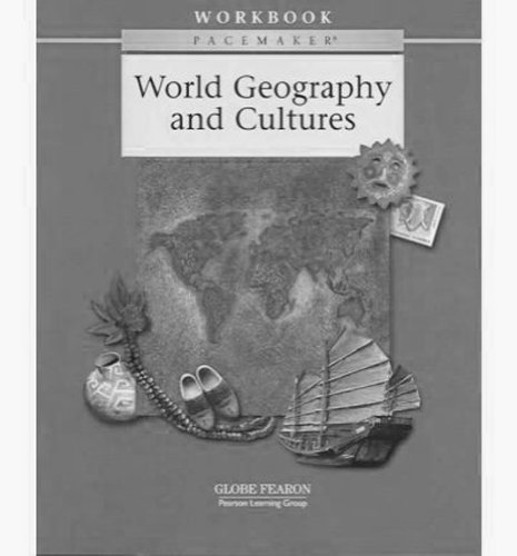 9780130236760: Pacemaker World Geography and Cultures 2nd Edition Workbook 2002c (Fearon World Geography)