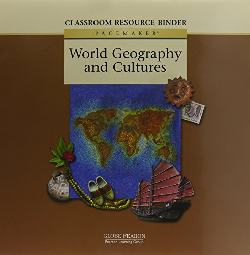 9780130236777: Pacemaker World Geography and Cultures : Classroom Resource Binder