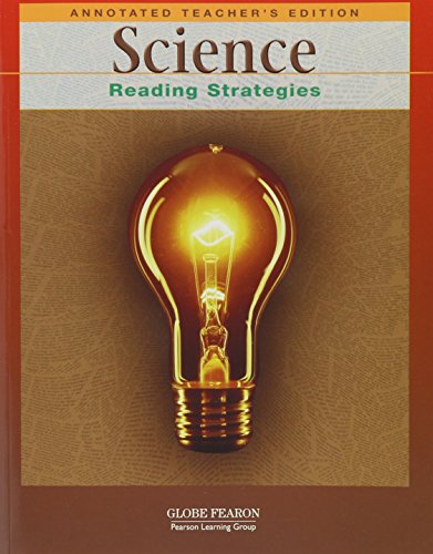 9780130237972: SCIENCE: READING STRATEGIES ANNOTATED TEACHER'S EDITION 2001C (GLOBE READING STRATEGIES)