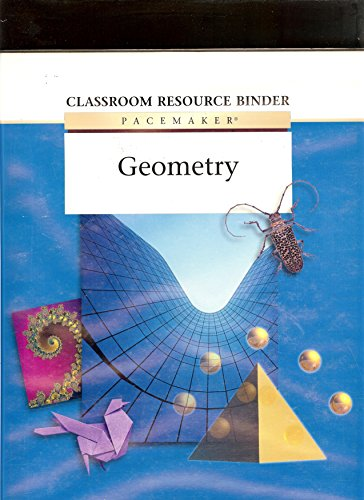 9780130238306: Globe Fearon Pacemaker Geometry Classroom Resource Binder 2003c (Globe Fearon Geometry.)