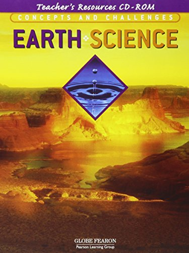 9780130238450: GLOBE CONCEPTS AND CHALLENGES IN EARTH SCIENCE TEACHER'S RESOURCE       CD-ROM 4TH EDITION 2003C