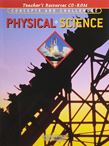 9780130238535: GLOBE CONCEPTS AND CHALLENGES IN PHYSICAL SCIENCE TEACHER'S RESOURCE    CD-ROM 4TH EDITION 2003C