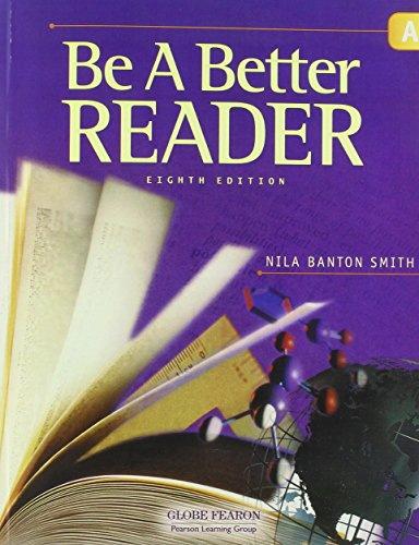 9780130238689: GLOBE FEARON BE A BETTER READER LEVEL A STUDENT EDITION 2003C