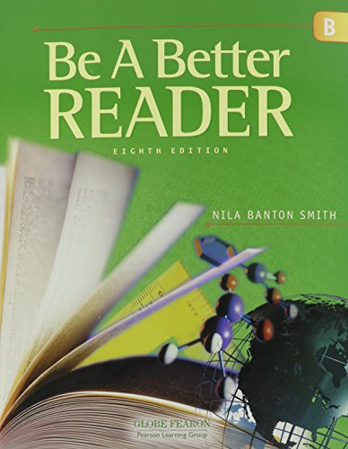 9780130238696: GLOBE FEARON BE A BETTER READER LEVEL B STUDENT EDITION 2003C