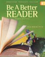 9780130238719: GLOBE FEARON BE A BETTER READER LEVEL D STUDENT EDITION 2003C