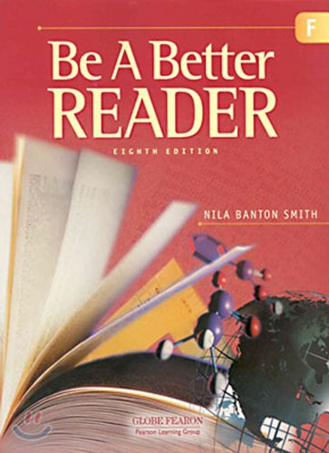 9780130238733: GLOBE FEARON BE A BETTER READER LEVEL F STUDENT EDITION 2003C