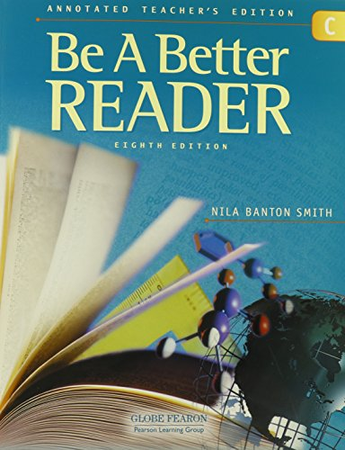 9780130238788: GLOBE FEARON BE A BETTER READER LEVEL C ANNOTATED TEACHER EDITION 2003C