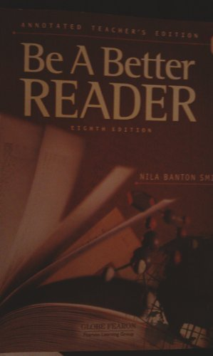 9780130238818: GLOBE FEARON BE A BETTER READER LEVEL E ANNOTATED TEACHER EDITION 2003C (Pacemaker World History Pacemaker)