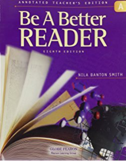 9780130238856: GLOBE FEARON BE A BETTER READER DIAGNOSTIC GUIDE 2003C