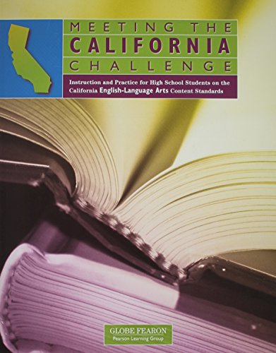 9780130239464: MEETING THE CALIFORNIA CHALLENGE ENGLISH/LANGUAGE STUDENT EDITION (MEETING THE CALIFORNIA CHALLENGE IN ENGLISH)