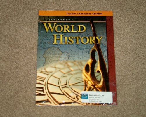 9780130241382: GLOBE FEARON WORLD HISTORY CD-ROM 2004C