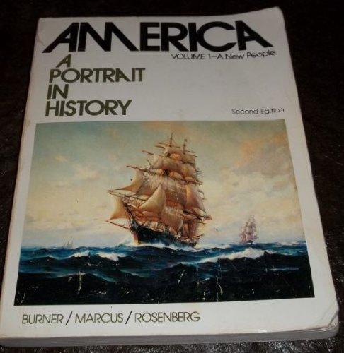 9780130242327: America: A portrait in history