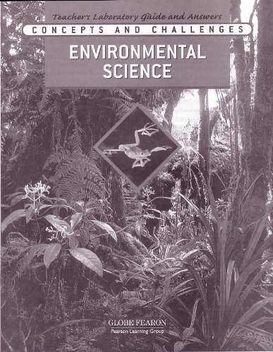 9780130242457: Concepts and Challenges: Environmental Science, Teacher's Laboratory Guide and Answer
