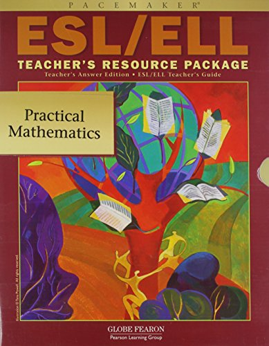 9780130243218: PACEMAKER PRACTICAL MATH ESL/ELL TEACHER RESOURCE PACKAGE 2004 (Fearon Practical Math for Consumers)