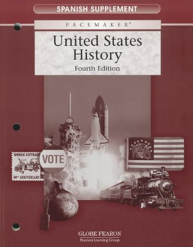 9780130243416: PACEMAKER UNITED STATES HISTORY SPANISH SUPPLEMENT 2004 (Fearon Us History)