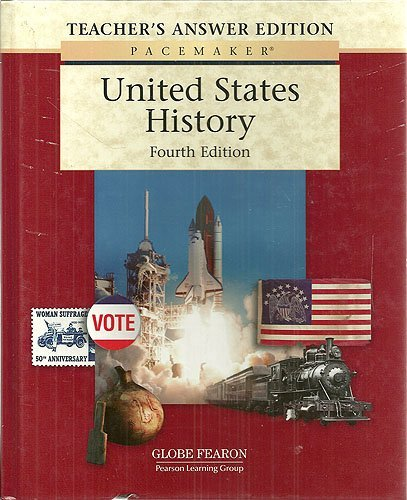 9780130244215: PACEMAKER UNITED STATES HISTORY TEACHER'S ANSWER EDITION FOURTH EDITION 2004 (Fearon Us History)