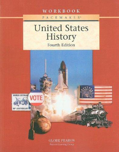 9780130244260: PACEMAKER UNITED STATES HISTORY WORKBOOK FOURTH EDITION 2004