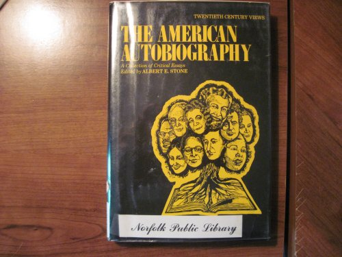 9780130246387: American Autobiography: A Collection of Critical Essays (20th Century Views)