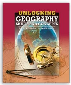 9780130246578: UNLOCKING GEOGRAPHY SKILLS AND CONCEPTS STUDENT EDITION 2005C (Globe Unlocking Soc Sci/Science/Tests)