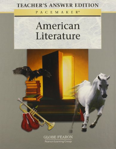 9780130246684: PACEMAKER AMERICAN LITERATURE TEACHER'S ANSWER EDITION 2005C (Fearon's American Literature)