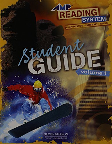 9780130247254: AMP READING: STUDENT GUIDE LEVEL 1 VOLUME 1