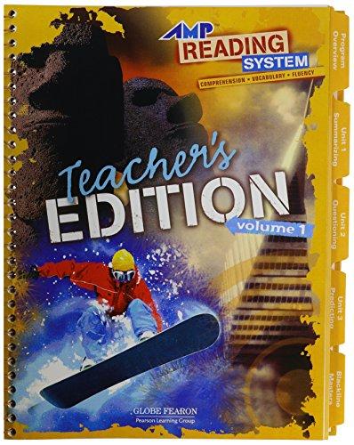 9780130247261: AMP READING:TEACHER'S EDITION LEVEL 1 VOLUME 1