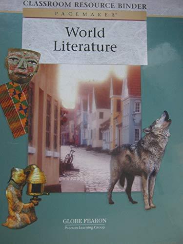 9780130247728: PACEMAKER WORLD LITERATURE CLASSROOM RESOURCE BINDER 2006C (Fearon's World Literature)
