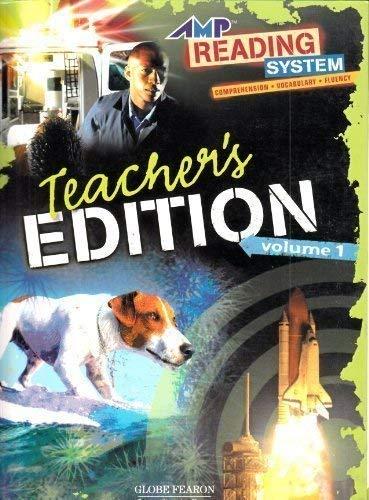 9780130248756: AMP READING: TEACHER'S EDITION LEVEL 1 VOLUME 2