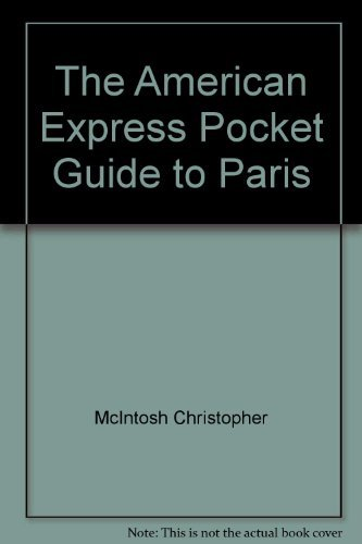 9780130252302: The American Express pocket guide to Paris