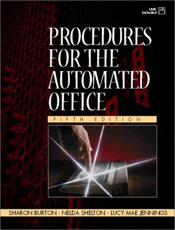 9780130254313: Procedures for the Automated Office (5th Edition)