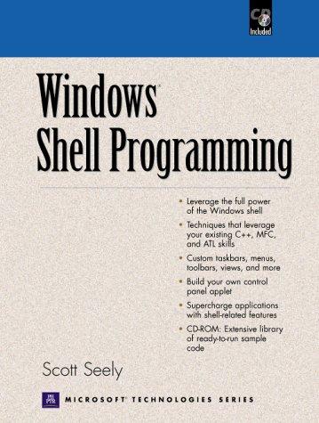 9780130254962: Windows Shell Programming (Prentice Hall series on Microsoft technologies)