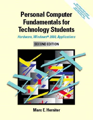 9780130255198: Personal Computer Fundamentals: Hardware, Windows 2000, and Applications