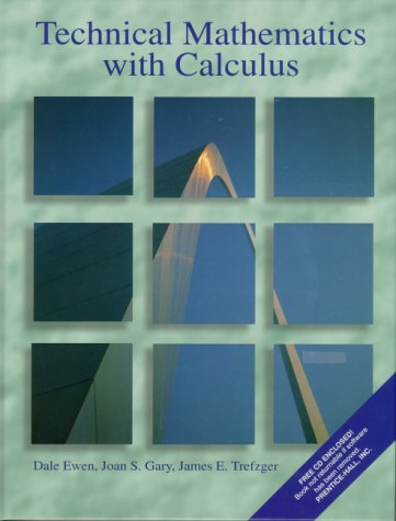 9780130255273: Technical Mathematics with Calculus