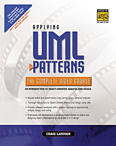 9780130255594: Applying UML and Patterns - The Complete Video Course (Boxed Set)