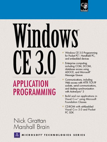 9780130255921: Windows CE 3.0 Application Programming (Prentice Hall Series on Microsoft Technologies)