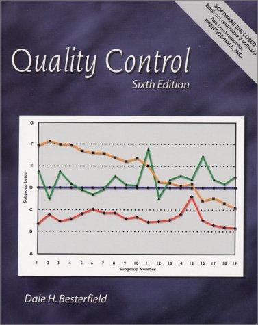 9780130256683: Quality Control