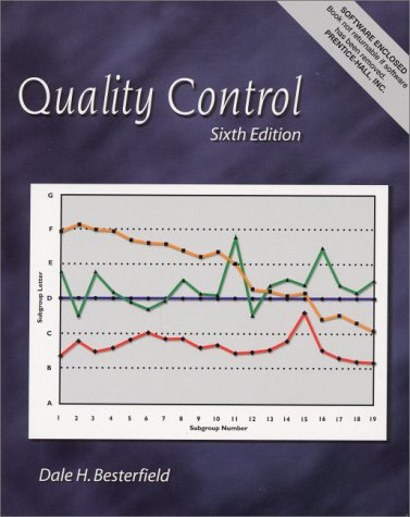 9780130256683: Quality Control (6th Edition)