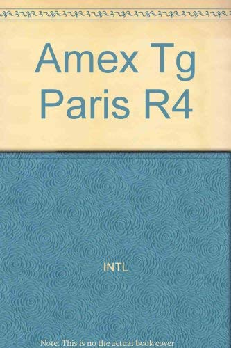 9780130256850: Amex Tg Paris R4 (American Express pocket travel guide series)