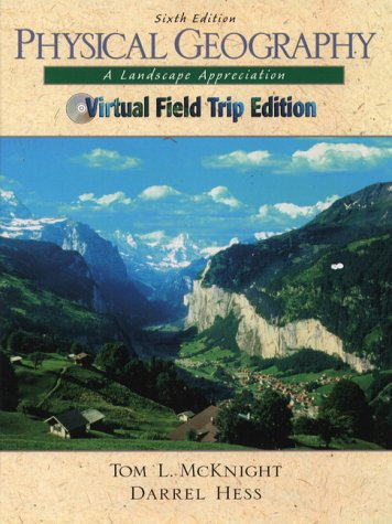 9780130257109: Physical Geography and Virtual Fieldtrip CD Package