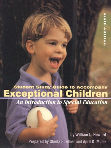 9780130257499: Student Study Guide to Accompany Exceptional Children: An Introduction to Special Education