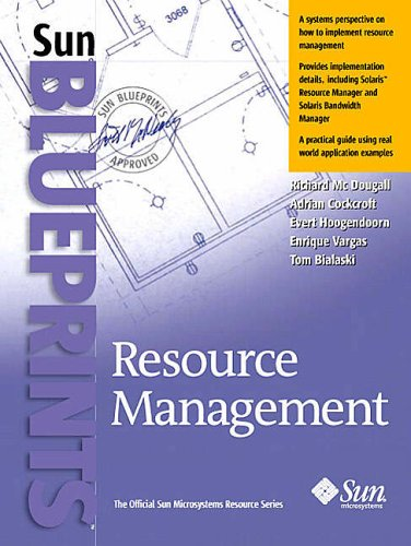 9780130258557: Resource Management (Sun Bluprints)