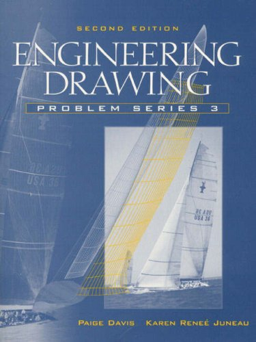 9780130259547: Engineering Drawing: Problem Series 3
