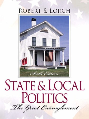 9780130260062: State and Local Politics: The Great Entanglement