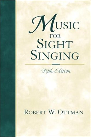 9780130262639: Music for Sight-Singing