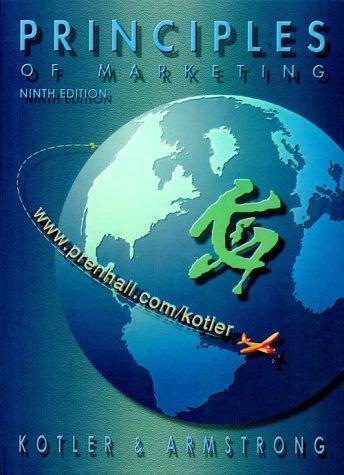 9780130263124: Principles of Marketing