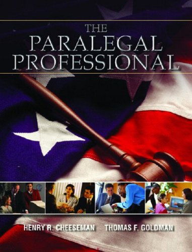 9780130264251: The Paralegal Professional