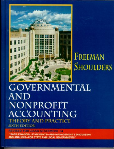 9780130264695: Governmental and Nonprofit Accounting (6th Edition)