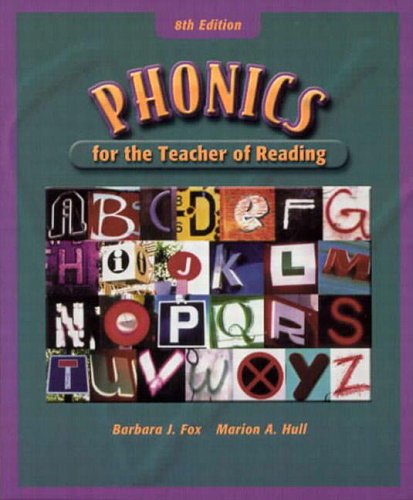 9780130265388: Phonics for the Teacher of Reading (8th Edition)