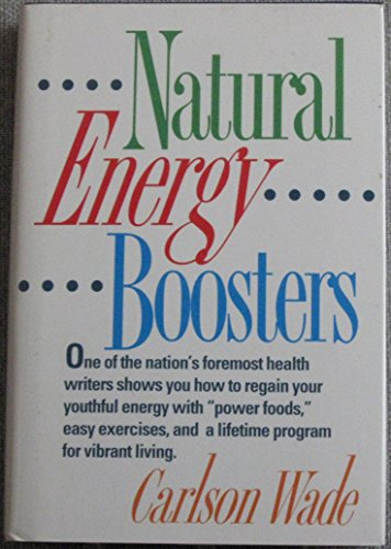 9780130266187: Natural Energy Boosters