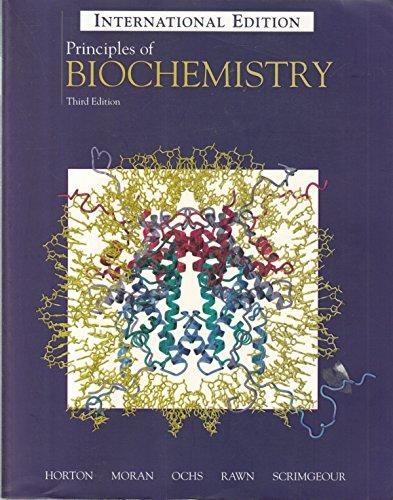 9780130266743: Principles of Biochemistry: Test Item File